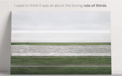 A Secret Rule of Photo Composition: The Middle Line
